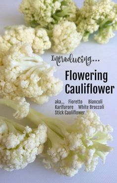 Flowering Cauliflower on ShockinglyDelicious.com