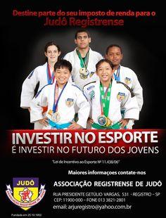 Vamos investir no esporte e ajudar o Judô do Vale do Ribeira - Brasil