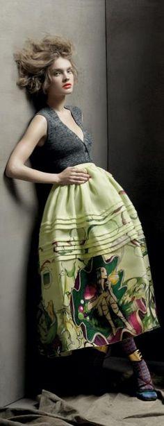 Natalia Vodianova ♥ for Vogue
