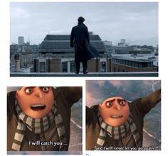 """cute...and creepy lol. welcome to the Sherlock fandom"" <--Most accurate description of the Sherlock fandom. I love it!!!"