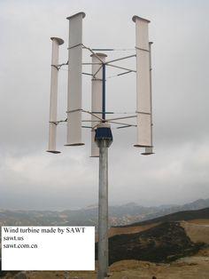Wind turbine made by SAWT    sawt.us    sawt.com.cn
