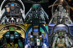 In this Article, we will share with you fighter jets Cockpits photo of Different Fighter jets in the world Air Fighter, Fighter Jets, Sr 71 Cockpit, Empire State Building, Star Trek, Aviation, Aircraft, World, Travel