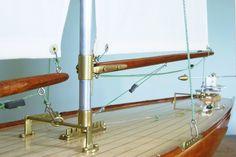 "Grove Pond yacht ""Waterbaby""... Beautiful craftsmanship !"