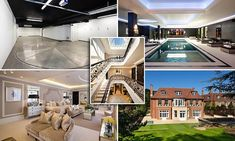 Too posh to reverse park! £32m mansion comes with a rotating turntable