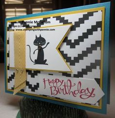 Cool Kid stamp set from Stampin' Up! visit my blog: http://penniemccallum.typepad.com/stamping_with_pennie/