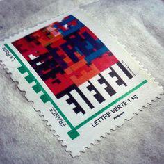#timbre #Eiffel reçu il y a quelque temps avec le livre Inferno Télégraph la biographie du groupe Eiffel