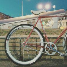 Fixed gear. Bianchi Rekord.