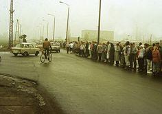 3. Dezember 1989 auf der F96 in Greifswald