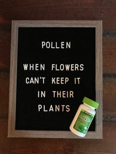 #letterboard #allergies