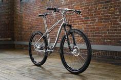 MTN Titanium and Steel City Bike   Budnitz Bicycles
