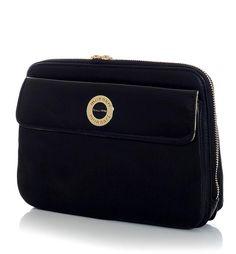 MONNARI Modna listonoszka saszetka kolor czarny ● GrandeSaldi Continental Wallet, Fashion, Moda, Fashion Styles, Fashion Illustrations
