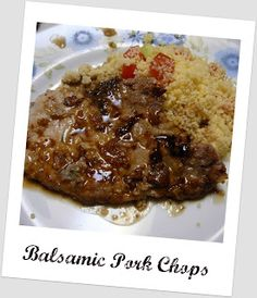 Mostly Food and Crafts: Balsamic Pork Chops