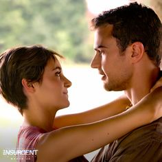 As long as they have each other, they can take on the world>>> no the can't love isn't what matters in Insurgent. Tris and Tobias are at odds with each other , so they just fight whilst together