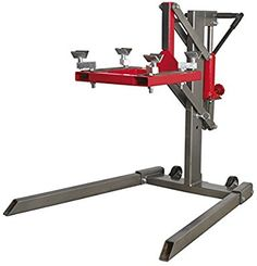 Sealey MCL500 Single Post Motorcycle Lift 450kg Capacity: Amazon.co.uk: Car & Motorbike Motorcycle Lift Table, Bike Lift, Motorcycle Mechanic, Mechanic Garage, Mechanic Tools, Garage Tools, Garage Shed, Lifting Platform, Metal Fab