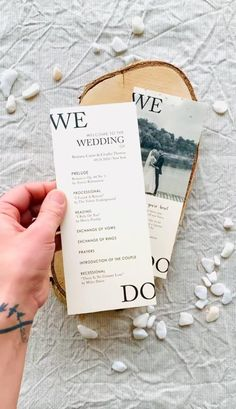 The more involved guests feel in your wedding ceremony, the more likely they are to enjoy themselves. Share the details of your wedding ceremony with your wedding program printed on high-quality paper for a perfect finishing. #weddingprograms #weddingprogram #weddingprogramcard #orderofevent #weddingtimeline #weddingpartycards #preludecards #wedocards #wedo #simpleweddingprograms #rusticweddingprograms #weddingprogramtimeline Rustic Wedding Stationery, Rustic Wedding Programs, Laser Cut Wedding Invitations, Wedding Timeline, Wedding Tips, Fall Wedding, Wedding Ceremony, Cream Wedding, Wedding Cake Inspiration