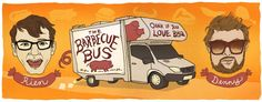 Oral historian Rien Fertel and photographer Denny Culbert of Louisiana piloted the Barbecue Bus, collecting 18 oral histories in North and South Carolina for the SFA's Southern BBQ Trail.