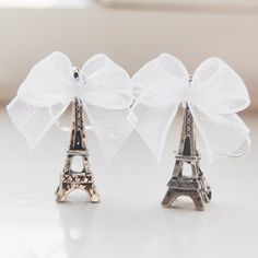 Paris - would also be cute with themed colored ribbon for Sweet 16 or other event.