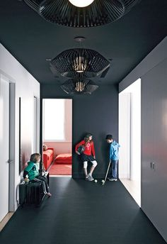 High Contrast Entry | Photo Gallery: Caroline McKeough's Favourite Interiors | House & Home | Photo by Douglas Friedman...