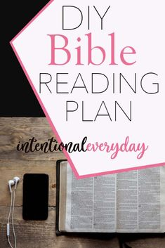 DIY Bible Reading Plan