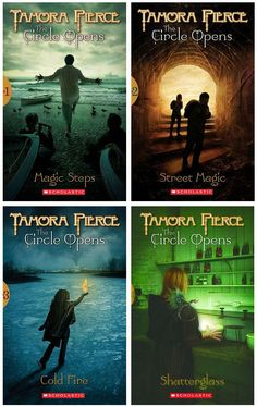 The Circle Opens Series by Tamora Pierce http://www.goodreads.com/series/43552