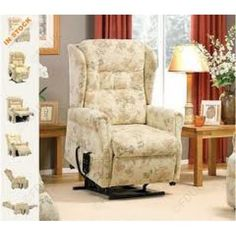 Royams Tara Fabric Handle #ReclinerChair... Offer Price:  £604.99... Tara…