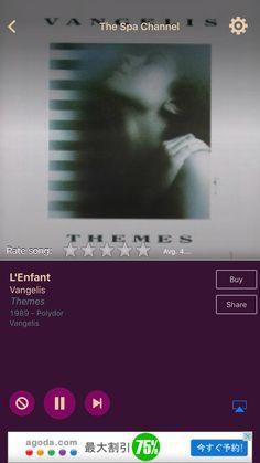 L'Enfant by Vangelis on AccuRadio