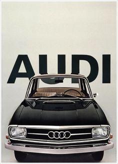 Audi vintage ad.. It just works. Love it.