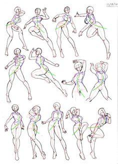 【绘画教材】人体结构的绘画和研究系列,打...@Six-采集到教程(1129图)_花瓣