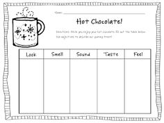 mrs. prince & co.: Hot Chocolate and Adjectives