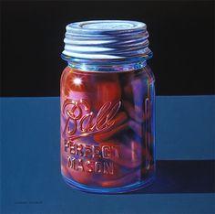 Glennray Tutor photorealist painter.   So incredibly talented.