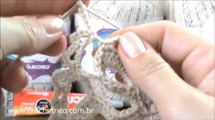 Crochê para Canhotas - Vestido Charme - Parte 01/05