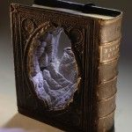 New Carved Book Landscapes by Guy Laramée