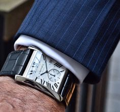 Cartier Tank MC – Automatic & Chronograph