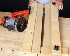 Router jig for dados