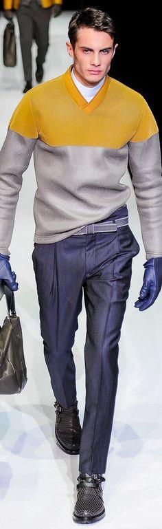www.2locos.com Emporio Armani Menswear Fall-Winter