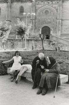 Henri Cartier-Bresson. Salamanca, Spain     1963