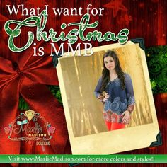 All I want for Christmas is MMB -