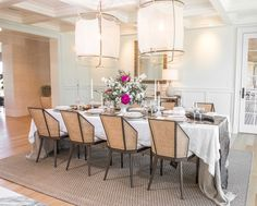 The dining room, by