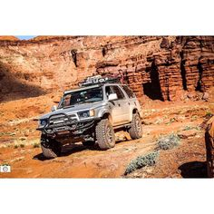 We're about one month away from our big trip to #rocktherapy2016 In MOAB. Who's going?! @a.flemster  _________________________________  #adventureon  #T4Routfitters _________________________________ #letsgoplaces #keepitwild #4runner #4runnermafia #toyota #fjcruiser #4thgen #5thgen #trailready #tryandbendthese #heavyduty #crawler #offroad #trd  #tacoma #tundra #bestofvsco  _________________________________  @rorck_usa @stealth_custom_series @loyaltoyota @everythingtoyotas by 4runnermafia