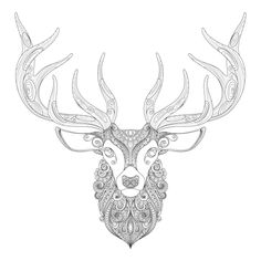 There was Dasher and Dancer and Prancer and Vixen, Comet and Cupid and Donner and Blitzen, but do you recall the most famous reindeer of all? The free Christmas coloring page reindeer that is!