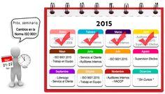 Consulten la programación de Cursos para Mayo: • ISO 9001:2015 - Jueves 21 y Viernes 22 • TRABAJO EN EQUIPO - Viernes 29  ¡Inscríbanse pronto!