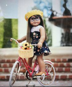 How to Sew Sweetheart Dress for your American Girl Dolls – Free Sewing Pattern Sewing Patterns For Kids, Sewing Projects For Beginners, Doll Clothes Patterns, Sewing For Kids, Doll Patterns, Dress Patterns, Sewing Tutorials, Clothing Patterns, Sewing Ideas
