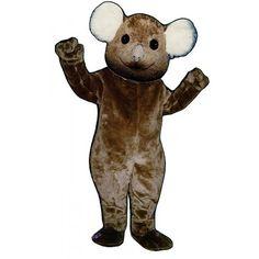 220-Z Kandy Koala - Team-Mascots.  See more bear mascot costumes at:  http://www.team-mascots.com/bear-mascot-costumes/koala220z