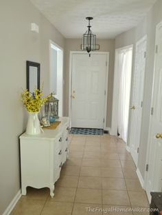 entryway after- Wheat Bread by Behr