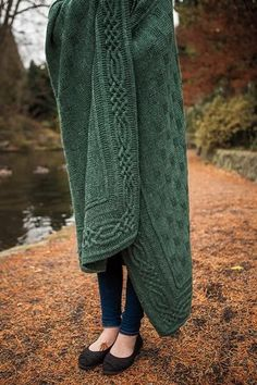 Stornoway Throw - Knitting Patterns and Crochet Patterns from KnitPicks.com