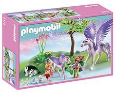 PLAYMOBIL Royal Children with Pegasus and Baby Playset PL... https://www.amazon.com/dp/B00B3QT5T2/ref=cm_sw_r_pi_dp_vnUzxbW6MVPGK