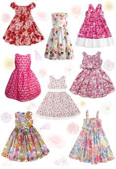 Some casual flower girl dresses for summer!