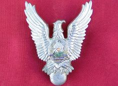 COCKTAILVINTAGEBAZAAR: Romanian air force pilot badge during communist era. Military Orders, Badges, Air Force, Pilot, Brooch, Vintage, Badge, Brooches, Pilots