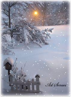 image anime - Page 11 Christmas Scenery, Christmas Pictures, Christmas Art, Winter Christmas, Winter Szenen, Hello Winter, Winter Time, Beautiful Winter Scenes, Beautiful Christmas