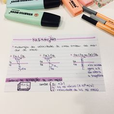 Refração Creative Notebooks, Bullet Journal School, Lettering Tutorial, Studyblr, Notes, Art, Study Notes, School Life, Professor